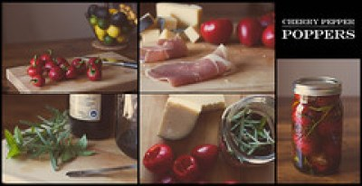 Cherry pepper poppers