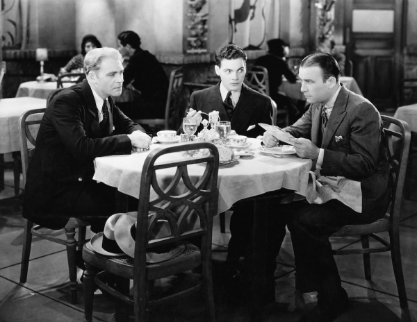 Three Businessmen Dining