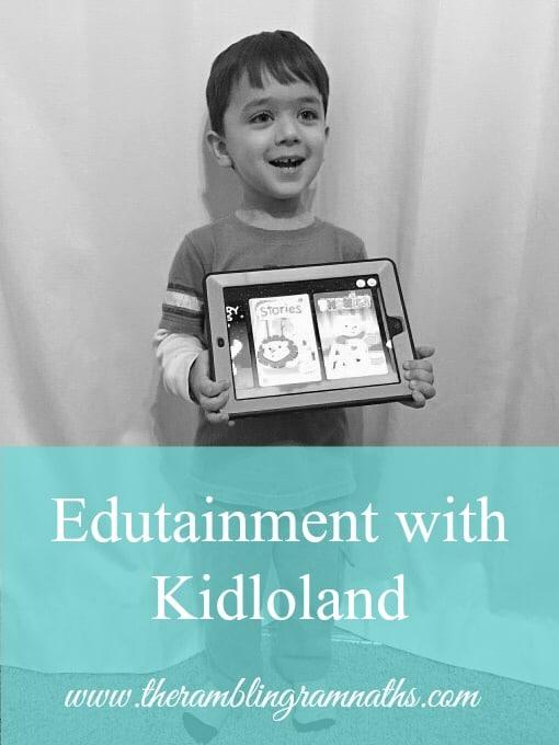 Edutainment with Kidloland