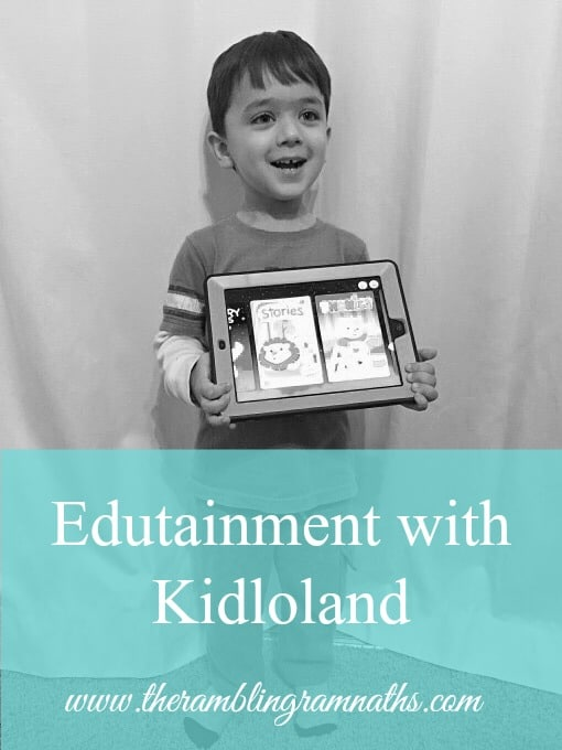 Edutainment with Kidloland