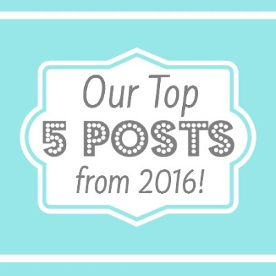 Top 5 Posts from 2016!