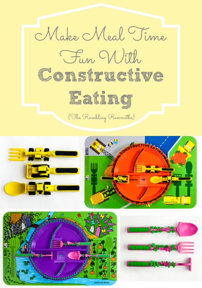 Make Meal Time Fun With Constructive Eating
