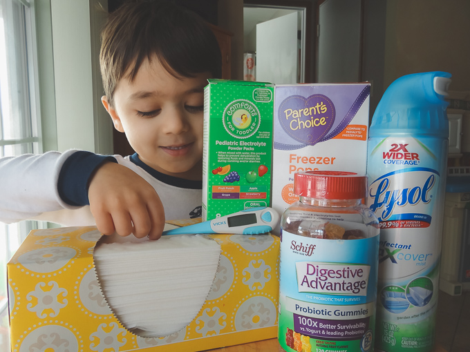 9 Essential Items for the Sick Child