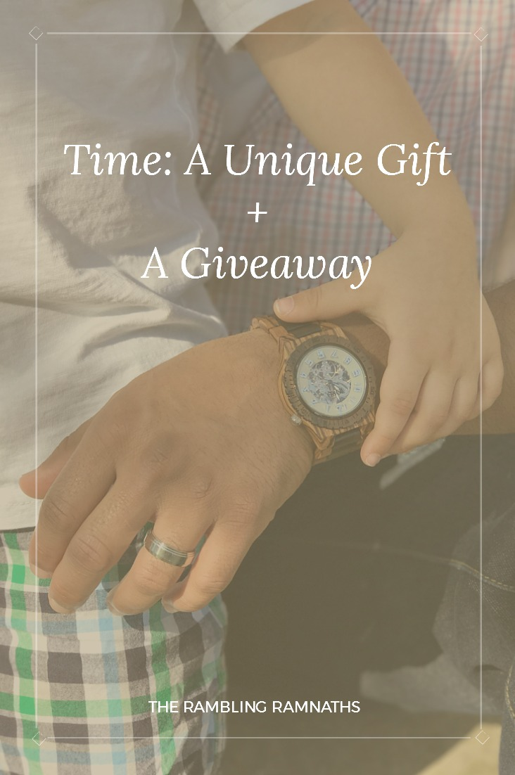 Father's giving of their time is the greatest gift they can give their families. So, one of the best ways to show appreciation for the man in your life is by giving them the gift of time. JORD Wood Watches are a unique gift that really show love and appreciation to that special person in your life.