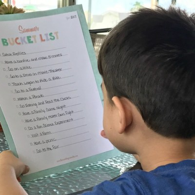 Making Unforgettable Memories with a Summer Bucket List + Printable
