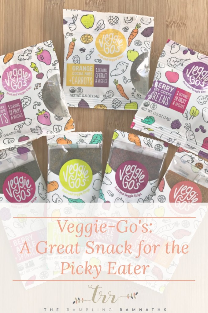 Veggie-Go's: A Great Snack for the Picky Eater