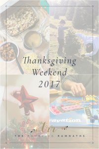Thanksgiving Weekend 2017