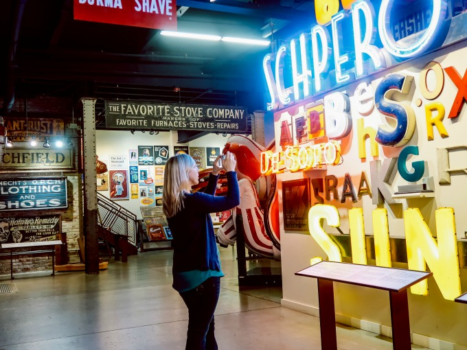 The Perfect Day Date at The American Sign Museum