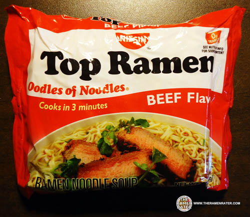 ReReview Meet The Manufacturer Nissin Top Ramen Beef