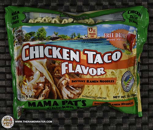 Meet The Manufacturer: #2407: Mama Pat's Chicken Taco Flavor Instant Ramen Noodles - United States - The Ramen Rater - instant noodles