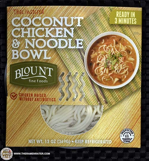 Blount Fine Foods Meet The Manufacturer #2596: Blount Thai Inspired Coconut Chicken & Noodle Bowl - United States - The Ramen Rater