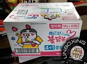 Unboxing Time: Samyang Foods Carbo Buldak Bokkeummyun + More