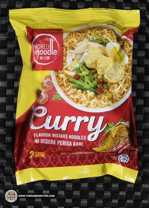 #2803: World O'Noodle Curry Flavour Instant Noodle