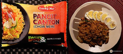 #6:Lucky Me! Pancit Canton (Chow Mein) Sweet & Spicy Flavor