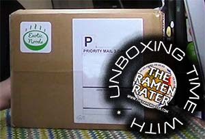 Unboxing Time: Exotic Noods February Green Box
