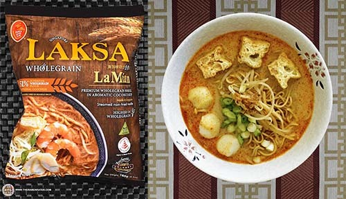 The Ramen Rater's Top Ten Instant Noodles Of All Time #1: Prima Taste Singapore Wholegrain Laksa La Mian -- Singapore