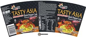 Meet The Manufacturer: #2881: Miandom Tasty Asia Black Pepper Crab Flavoured Instant Noodles