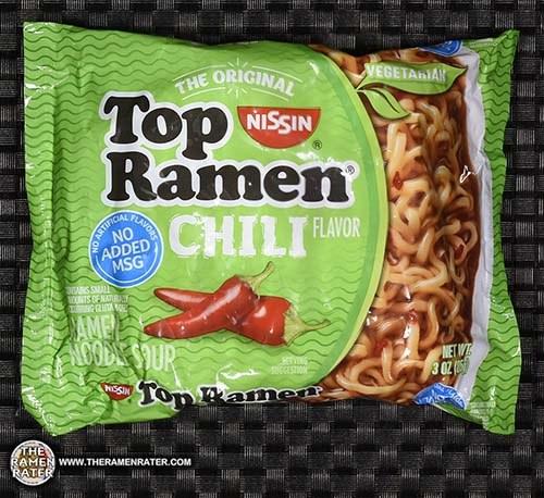 #2950: Nissin Top Ramen Chili Flavor Ramen Noodle Soup (New Recipe)