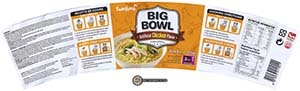 #2982: Samyang Foods Big Bowl Artificial Chicken Flavor - South Korea