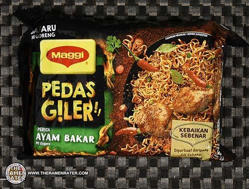 #3074: Maggi Pedas Giler Perisa Ayam Bakar Mi Goreng - Malaysia