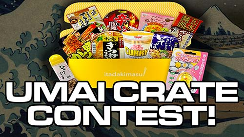 Win An Umai Crate From Japan Crate Contest