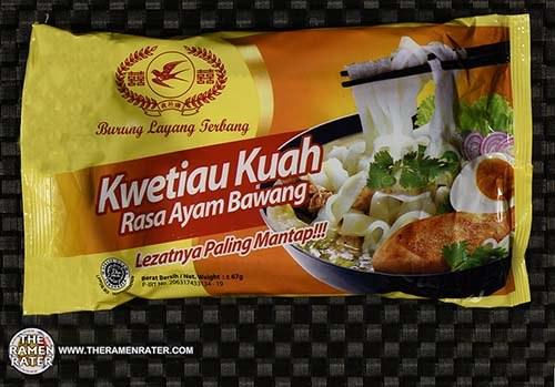 #3083: Burung Layang Terbang Kweitiau Kuah Rasa Ayam Bawang - Indonesia
