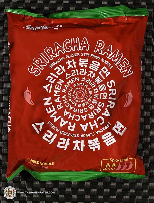#3101: Samyang Foods Sriracha Ramen - South Korea
