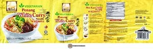 #3215: MyKuali Vegetarian Penang White Curry Noodle - Malaysia