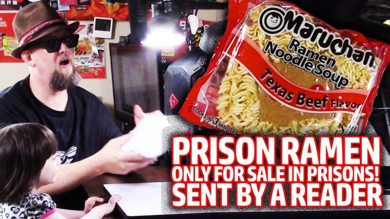 Prison Ramen: Maruchan Texas Beef Donation