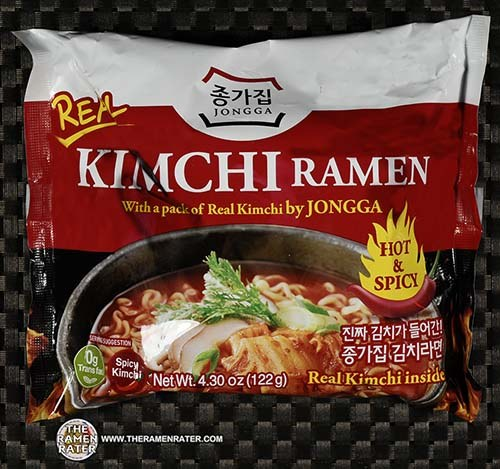 #3320: Jongga Instant Noodle Kimchi Ramen Hot & Spicy Flavor - South Korea