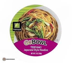 #3356: Nasoya GoBowl Teriyaki Japanese Style Noodles - United States