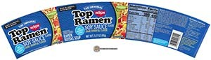 #3394: Nissin Top Ramen Soy Sauce Bowl - United States