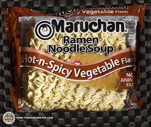 #3444: Maruchan Ramen Noodle Soup Hot-n-Spicy Vegetable Flavor - United States