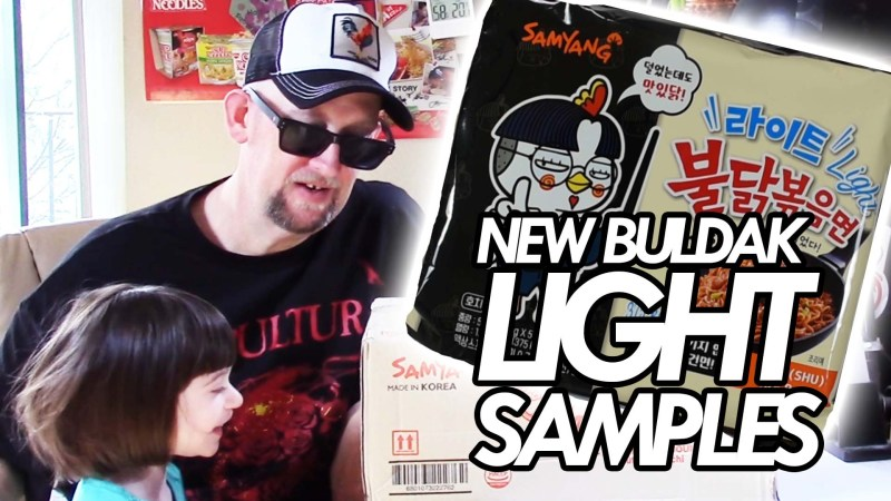 New Buldak Light Fire Noodle Samples + More