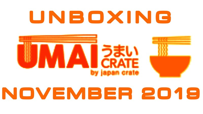 Umai Crate - Japanese Ramen Noodles Subscription Box - November 2019 Unboxing