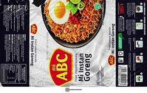 #3461: Mi ABC Mi Instan Goreng - Indonesia