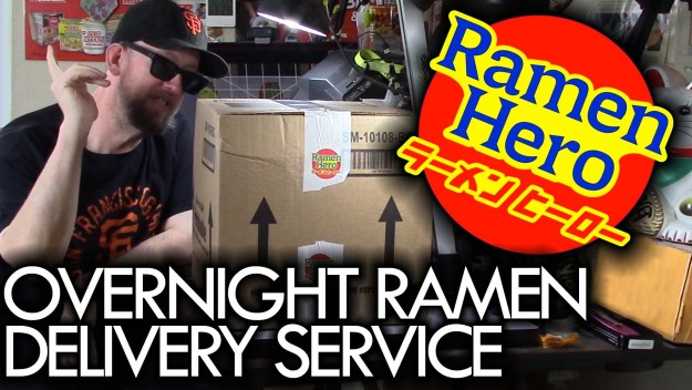 Ramen Hero Japanese Ramen Delivery Service Unboxing