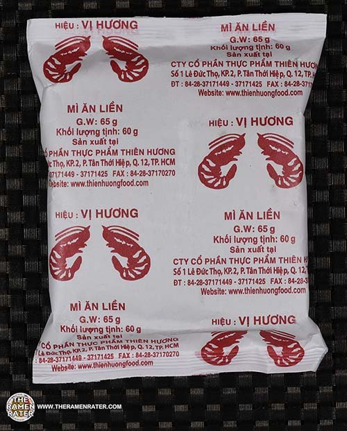 Meet The Manufacturer: #3609: Vi Huong Shrimp Instant Noodles - Vietnam