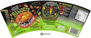 Mamee Shinsegae Habanero Kimchi Jjigae Instant Noodles Soup - Malaysia