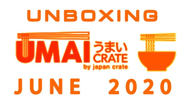 Umai Crate Japanese Ramen Subscription Box June 2020