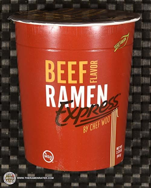 Meet The Manufacturer: #3668: Ramen Express By Chef Woo Beef Flavor - United States