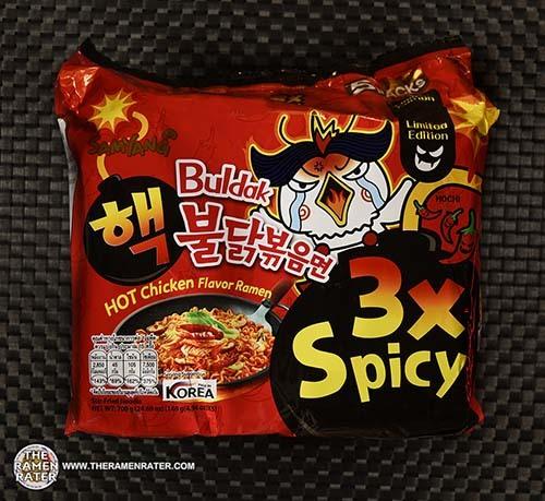 #3676: Samyang Foods Buldak 3x Spicy HOT Chicken Flavor Ramen - South Korea