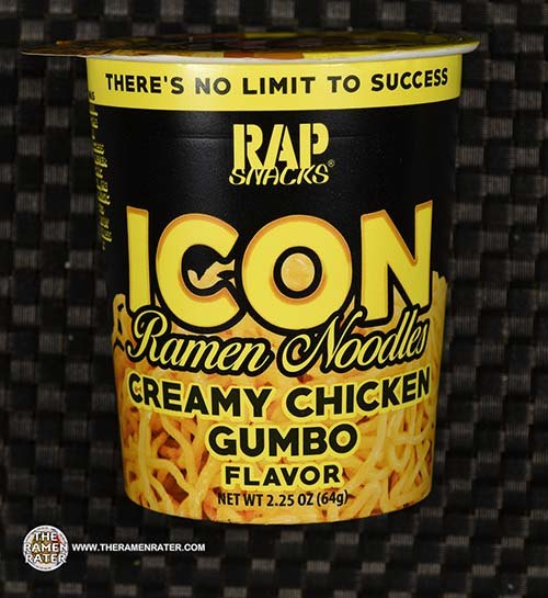 #3680: Rap Snacks Icon Ramen Noodles Creamy Chicken Gumbo - United States