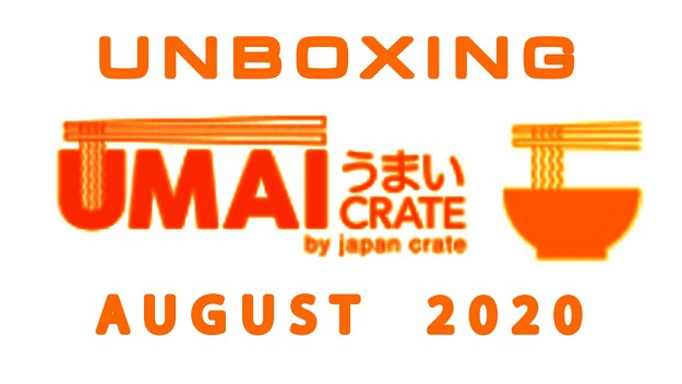 Umai Crate Japanese Ramen Subscription Box August 2020