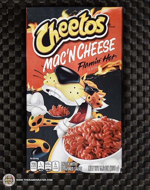#3731: Cheetos Mac'N Cheese Flamin' Hot Flavor - United States