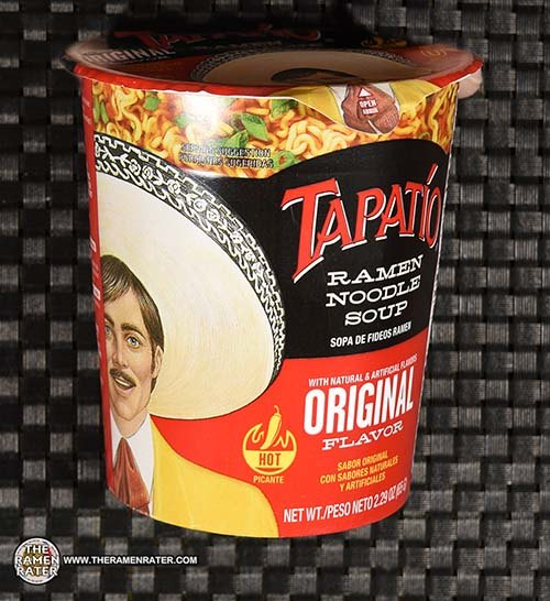 #3757: Tapatio Ramen Noodle Soup Original Flavor Cup - United States