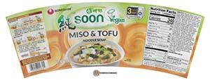 #3763: Nongshim Soon Miso & Tofu Noodle Soup - United States