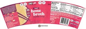 Meet The Manufacturer: #3748: LonoLife Beef Bone Broth Noodle Soup - United States