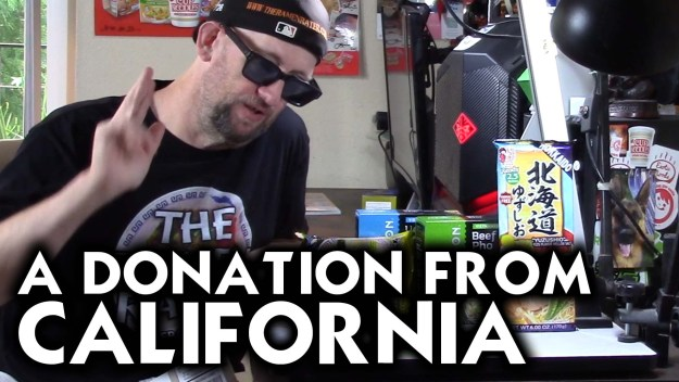 Another Donation From James In Lakeside, California!