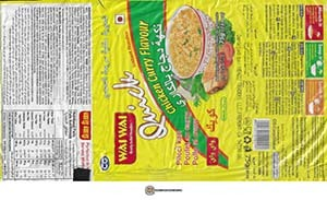 #3764: Wai Wai Quick Instant Noodles Chicken Curry Flavour - Serbia